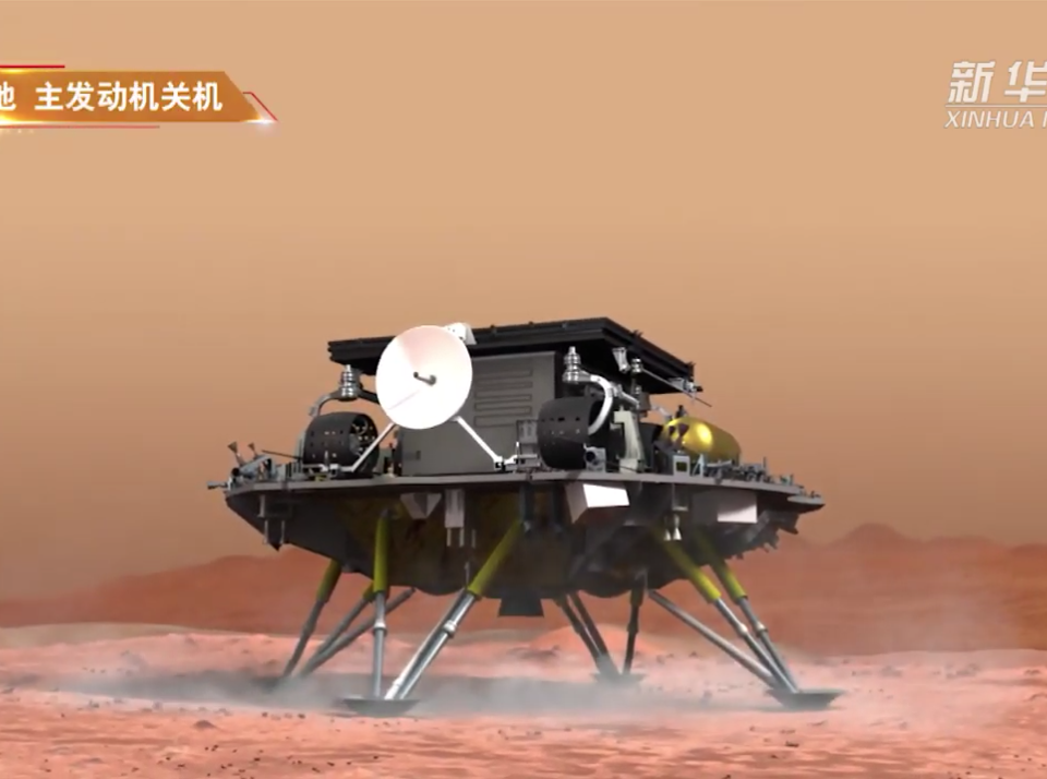 Tianwen-1 (XinHua)